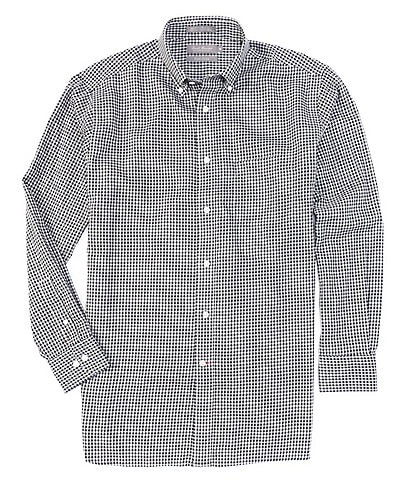 Daniel Cremieux Signature Check Non-Iron Long-Sleeve Woven Shirt