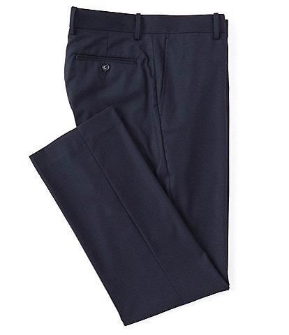 Daniel Cremieux Signature Solid Classic-Fit Flat-Front Dress Pants