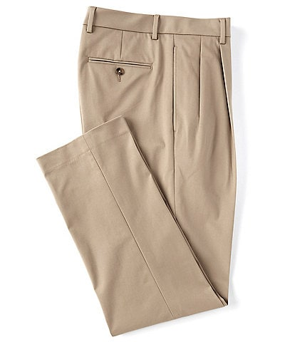Daniel Cremieux Signature Solid Pleated Performance Stretch Pants