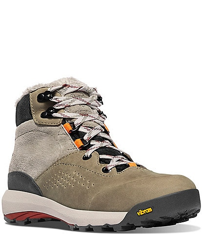 Danner Women's Inquire Suede Mid Waterproof Lace-Up Winter Hiking Boots