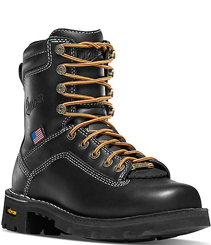 Danner Women's Quarry USA 7#double; Waterproof Work Boots
