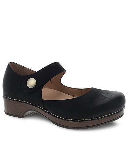 Dansko Beatrice Suede Block Heel Mary Jane