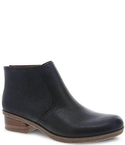 Dansko Becki Waterproof Leather Booties
