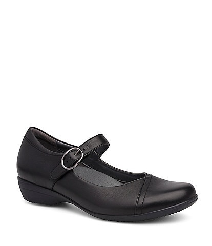 Dansko Fawna Leather Mary Janes