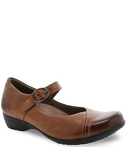 Dansko Fawna Leather Mary Janes