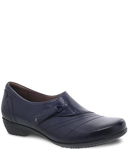 Dansko Franny Block Heel Loafers