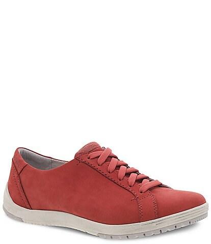 Dansko Leela Waterproof Nubuck Leather Sneakers