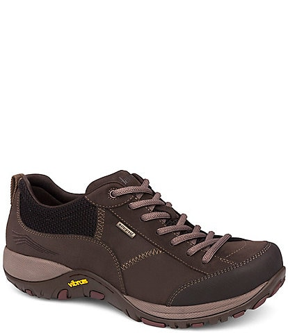 Dansko Women's Paisley Lace-Up Waterproof Nubuck Sneakers