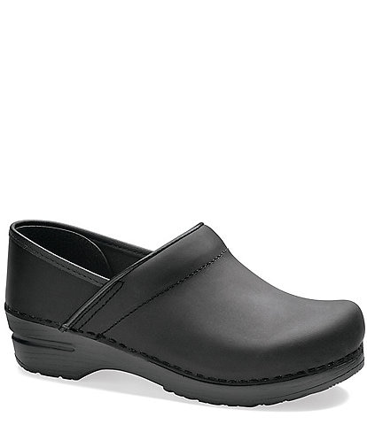 Dansko Professional Leather Slip On Clogs