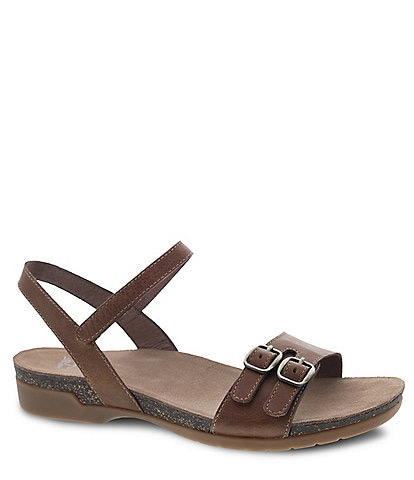 Dansko Rebekah Burnished Leather Sandals