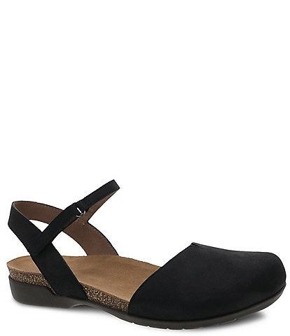 Dansko Rowan Nubuck Leather Slip-On Shoes