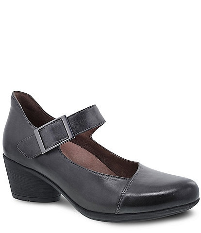 Dansko Roxanne Burnished Suede Mary Jane Pumps