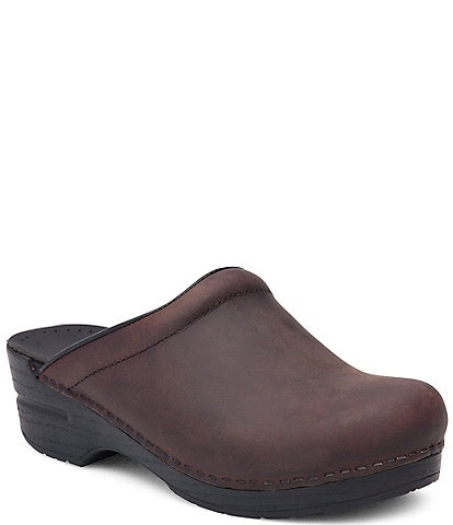 Dansko Sonja Leather Clogs
