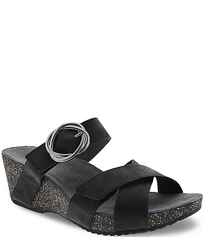 Dansko Susie Leather Slide Sandals