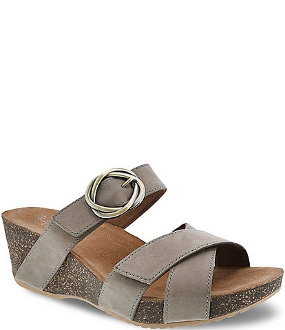 21ca952c49e Dansko Susie Leather Slide Sandals