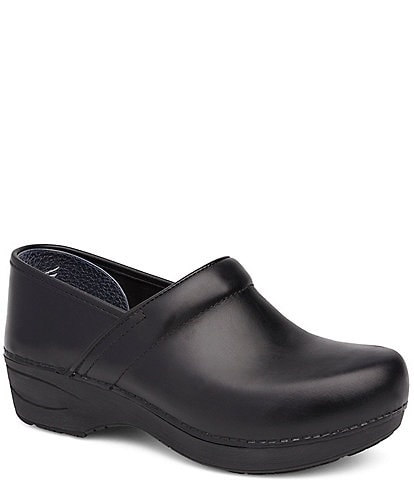 Dansko XP 2.0 Black Pull Up Clogs