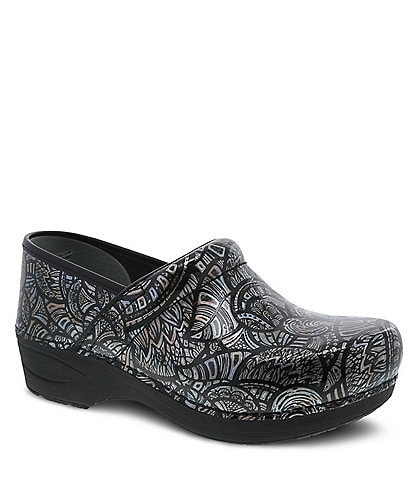 Dansko XP 2.0 Fossilized Patent Leather Clogs