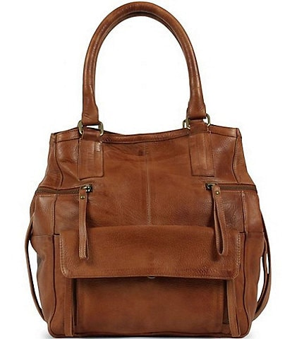 Day & Mood Hannah Small Leather Satchel Bag