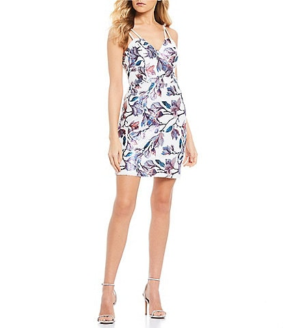 White Short Juniors Homecoming And Party Dresses Dillard S