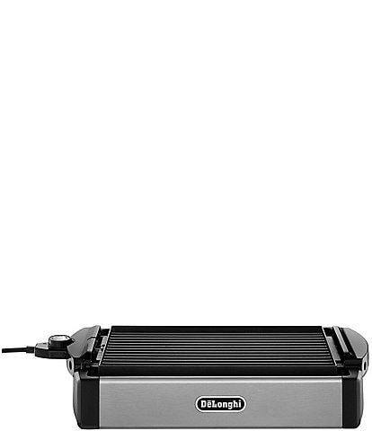 DeLonghi 2-in-1 Indoor Grill & Griddle with Reversible Plate