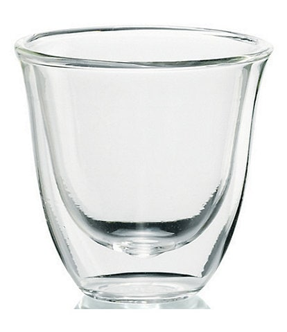 DeLonghi Espresso Double Wall Thermal Glasses, Set of 6
