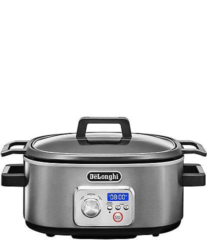 DeLonghi Livenza Slow Cooker With Stovetop Safe Pot