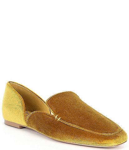Deltan Harper Velvet Flat Loafers