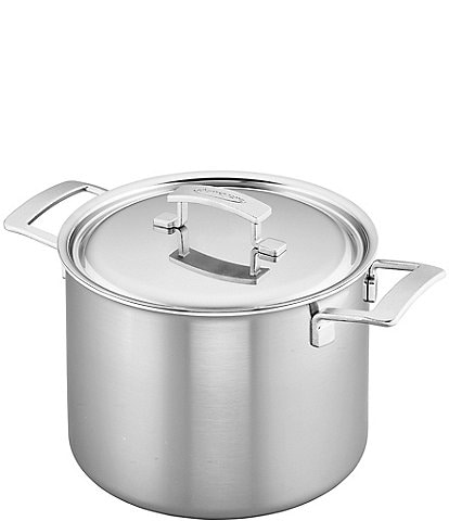 Demeyere Industry 5-PLY 8 QT Stainless Steel Stock Pot