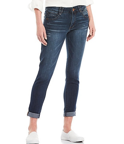Democracy #double;Ab#double;solution Cuffed Skimmer Jeans