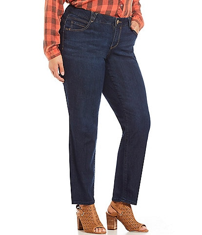 1854ecabbbe Democracy Plus  double Ab double  Solution Straight Leg jean