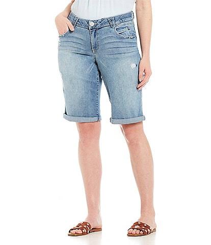 Democracy Plus Size #double;Ab#double;solution Bermuda Shorts