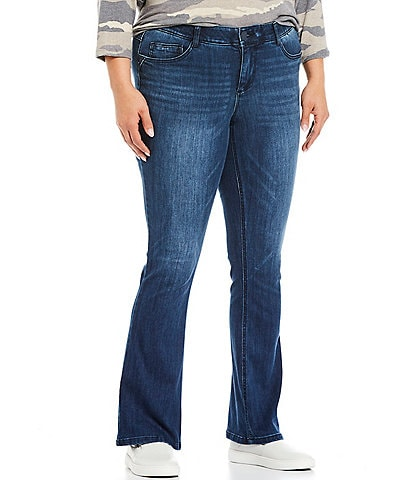 Democracy Plus Size #double;Ab#double;solution Itty Bitty Bootcut Jeans