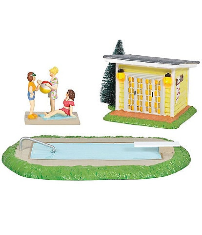 Department 56 Christmas Vacation Collection Pool Fantasy
