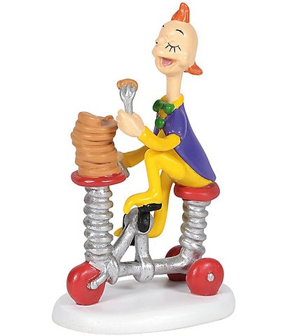 Department 56 Dr Seuss, The Grinch Village Collection Who-Ville Pancakes To Go Figurine