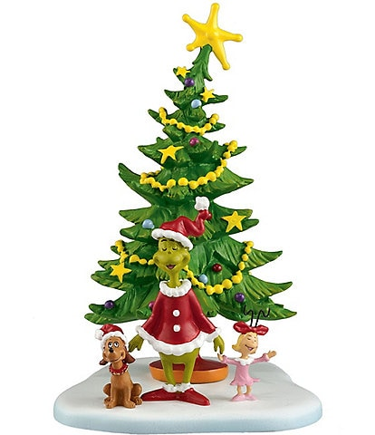 Department 56 Dr. Seuss, The Grinch Collection Welcome Xmas, Xmas Day Figurine