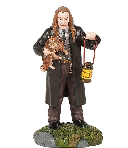 Department 56 Harry Potter Filch And Mrs. Norris Figurine