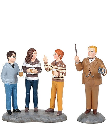 Department 56 Harry Potter Professor Slughorn & His Students Figurine