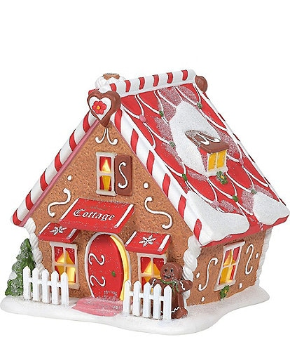 Department 56 North Pole Collection Ginger's Cottage