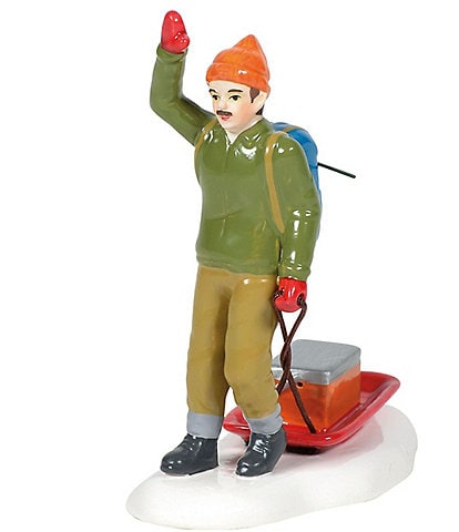 Department 56 Snow Village A Day On The Lake Figurine