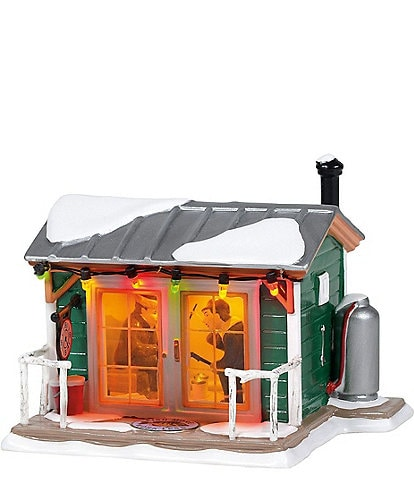 Department 56 The Original Snow Village Home Sleet Home Fish Shack Lighted Building