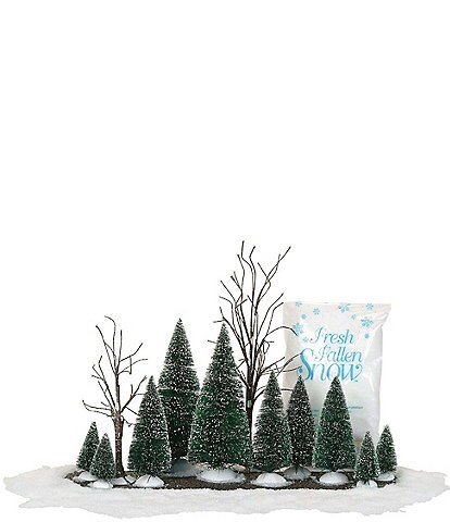 Department 56 Village Landscape 14-Piece Accessory Set