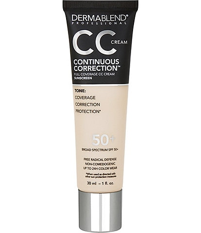 Dermablend Continuous Correction™ Tone-Evening CC Cream SPF 50+
