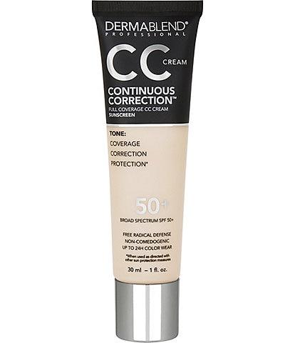 Dermablend Continuous Correction™ Tone-Evening CC Cream SPF 50+