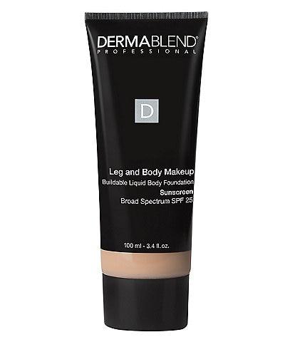 Dermablend Leg & Body Makeup Buildable Liquid Body Foundation SPF 25
