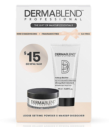 Dermablend Setting Powder & Makeup Removal Kit