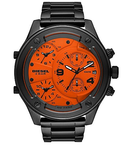 Diesel Boltdown Chronograph Gunmetal Stainless Steel Watch
