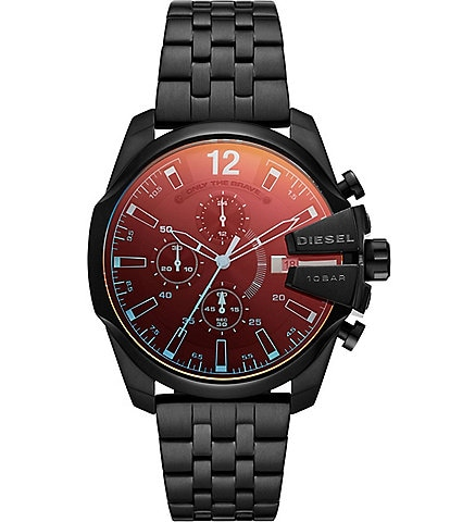 Diesel Baby Chief Chronograph Black Stainless Steel Watch