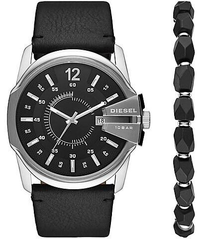 Diesel Diesel Master Chief Watch and Bracelet Gift Set