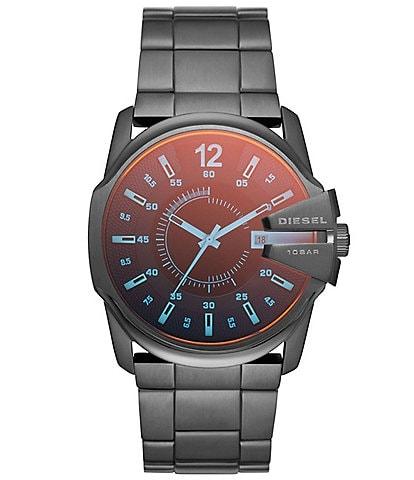 Diesel Master Chief Chronograph Gunmetal-Tone Stainless Steel Watch