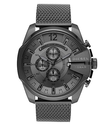 Diesel Mega Chief Chronograph Gunmetal Stainless Steel Watch